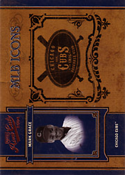 2004 Playoff Prime Cuts II #MLB-27 MLB Icons SN#01/50