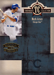2005 Donruss Throwback Threads #TC-17 Throwback Collection