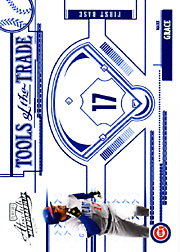 2005 Playoff Absolute Memorabilia #TT-150 Tools of the Trade Blue SN#147/150