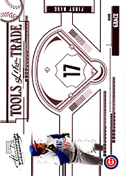 2005 Playoff Absolute Memorabilia #TT-150 Tools of the Trade Red SN#190/250
