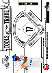 2005 Playoff Absolute Memorabilia #TT-83 Tools of the Trade Black SN#040/100