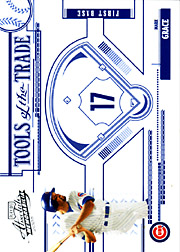 2005 Playoff Absolute Memorabilia #TT-83 Tools of the Trade Blue SN#106/150