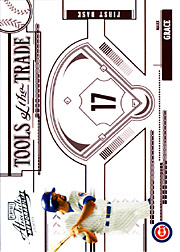 2005 Playoff Absolute Memorabilia #TT-83 Tools of the Trade Red SN#196/250