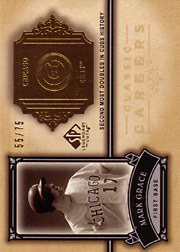 2005 Upper Deck SP Legendary Cuts #CC-MG Classic Careers Gold SN#55/75