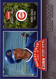 2006 Fleer Greats of the Game #CHC-MG Cubs Greats