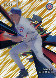 2015 Topps High Tek #HT-MGE Grass Pattern Gold Rainbow SN#21/35