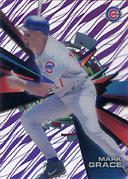 2015 Topps High Tek #HT-MGE Grass Pattern Purple Rainbow