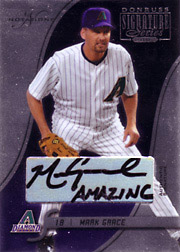 2003 Donruss Signature Series #6 Autograph Notation SN#5/5