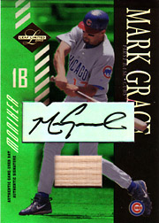 2003 Leaf Limited #98 Moniker Bat/Autograph SN#3/5