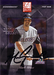 2004 Donruss Elite #44 2002 Donruss Elite Recollection Collection Buyback Autograph SN#2/2