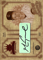 2004 Donruss Diamond Kings #HC25 Heritage Collection Autograph SN#1/5