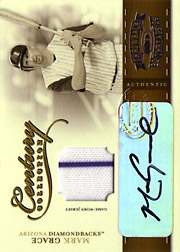 2004 Donruss Throwback Threads #CC56 Century Collection Jersey/Autograph SN#31/50