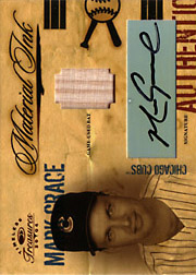 2004 Donruss Timeless Treasures #MI19 Material Ink Bat/Autograph SN#07/10