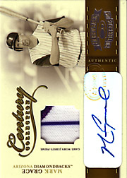 2004 Donruss Throwback Threads #CC56 Century Collection Patch/Auto SN#2/5