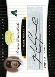 2004 Leaf Certified Cuts #CC-44 Cuts Green Autograph SN#3/3