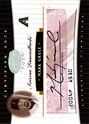 2004 Leaf Certified Cuts #CC-44 Cuts Red Autograph SN#11/11