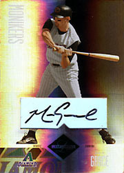 2004 Leaf Limited #214 Monikers Silver Autograph SN#03/50