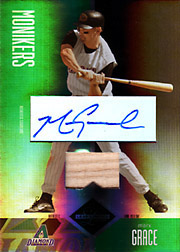 2004 Leaf Limited #214 Monikers Bat/Autograph SN#05/25