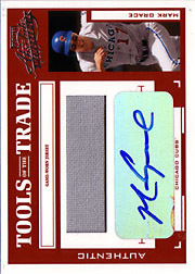 2004 Playoff Absolute Memorabilia #TT-88 Tools of the Trade Red Jersey/Autograph SN#5/5