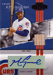 2004 Playoff Honors #PS-39 Prime Signatures Bat/Autograph SN#3/5