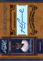 2004 Playoff Prime Cuts II #MLB-27 MLB Icons Century Platinum Autograph SN#1/1