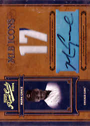 2004 Playoff Prime Cuts II #MLB-27 MLB Icons Jersey Autograph SN#13/17