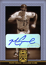 2005 Donruss Greats #55 Autograph SP 1 of 45