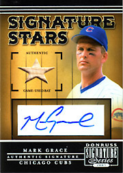 2005 Donruss Signature Series #SS-6 Signature Stars Bat/Autograph