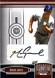 2005 Donruss Signature Series #30 Autograph