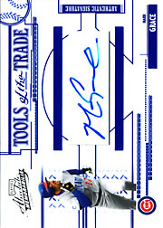 2005 Playoff Absolute Memorabilia #TT-150 Tools of the Trade Blue Autograph SN#35/80