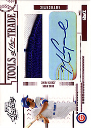 2005 Playoff Absolute Memorabilia #TT-83 Tools of the Trade Red Patch/Autograph SN#2/5