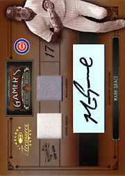 2005 Donruss Timeless Treasures #G-17 Gamers Dual Jersey/Autograph SN#19/25