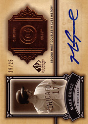 2005 Upper Deck SP Legendary Cuts #CC-MG Classic Careers Autograph SN#19/25