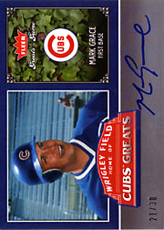 2006 Fleer Greats of the Game #CHC-MG Cubs Greats Autograph SN#21/30