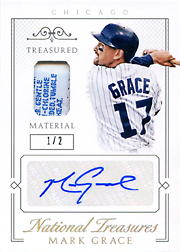 2015 National Treasures #65 Treasured Material Jersey Tag/Auto SN#1/2