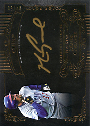 2015 Topps Five Star Golden Graphs Auto #GG-MG Gold Ink Black SN#34/50