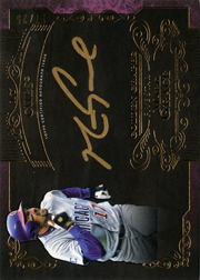 2015 Topps Five Star Golden Graphs Auto #GG-MG Gold Ink Purple SN#17/25
