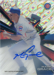 2015 Topps High Tek #HT-MGE Cloud Diffractor Auto SN#24/25
