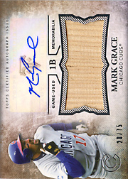2015 Topps Triple Threads Unity Auto/Bat #UAJ-MG Sepia SN#20/75