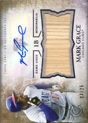 2015 Topps Triple Threads Unity Auto/Bat #UAJ-MG Gold SN#23/25