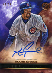 2016 Topps Legacies of Baseball #TRA-MG Tradition Autograph SN#44/50