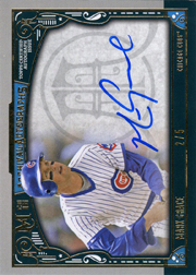 2016 Topps Museum Collection #AA-MG Archival Autographs Auto Gold SN#2/5