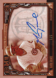 2016 Topps Museum Collection #AA-MG Archival Autographs Auto Sepia SN#1/5