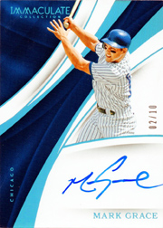 2017 Panini Immaculate Colleciton #15-MG Blue Autograph SN#02/10