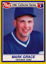 Mark Grace Food Issue Baseball Cards