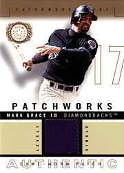 2003 Fleer Patchworks #MG-PW Level 1 Single Color Patch SN#064/250