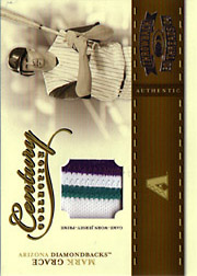 2004 Donruss Throwback Threads #CC-56 Century Collection Patch SN#17/25