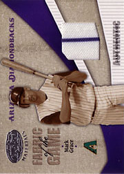 2004 Leaf Certified Materials #FG178 Fabric of the Game Jersey SN#036/100