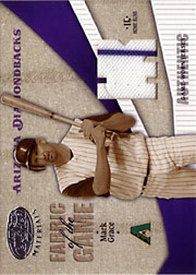 2004 Leaf Certified Materials #FG178 Fabric of the Game Jersey HR SN#14/15