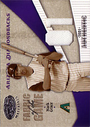 2004 Leaf Certified Materials #FG178 Fabric of the Game Jersey 01 SN#05/20